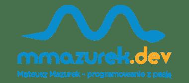 Mateusz Mazurek – programista z pasją